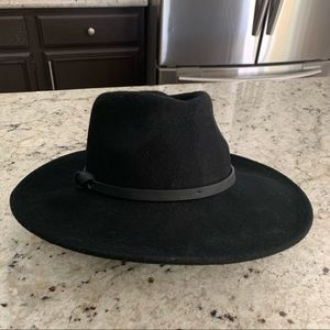 Women's felt bolero hat  black